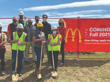 McDonald's Breaks Ground