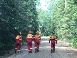 Mannville Firefighter Assists In High Level Wildfire