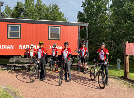Team Vermilion Rides To Conquer Cancer