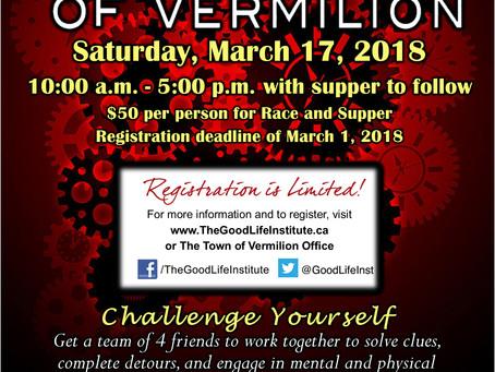 The Race Of Vermilion