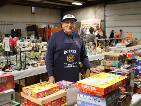The 10th Annual Rotary Garage Sale