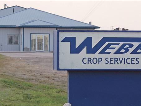 Webb's Crop Changes Hands