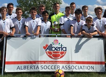U15 Boys – Provincial Soccer Champions