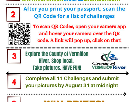 Vermilion And District Chamber Of Commerce Holding A Scavenger Hunt