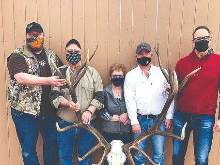 Pope & Young Name World Record Non-Typical American Elk