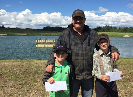 Innisfree Trout Pond Action Heats Up