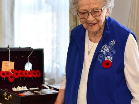 Elsie Sinden Remembers Her Husband And Father-In-Law