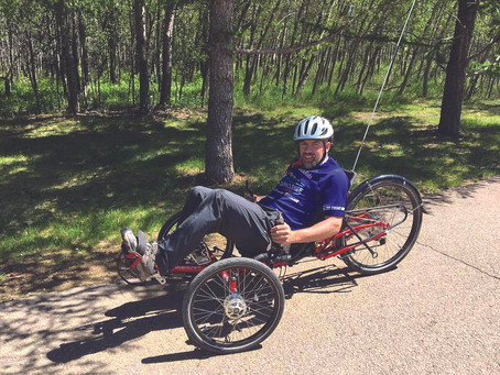 Jarrod Russell's Great Cycle Challenge To Help Beat Cancer