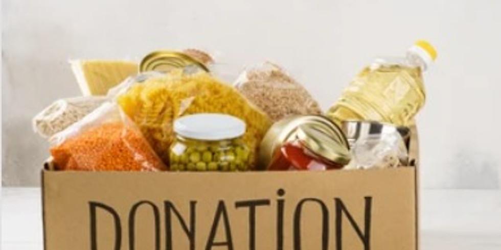 Donation Drive Begins