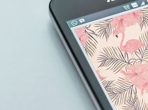 Handy-Bildschirm Nahaufnahme