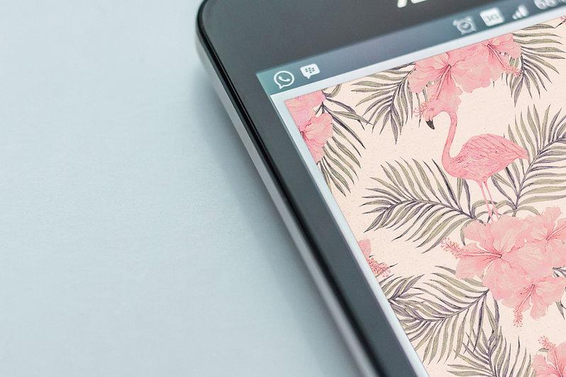 Cell Screen Closeup