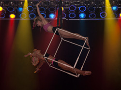 Duo aerial cube