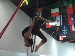 teen aerial hoop