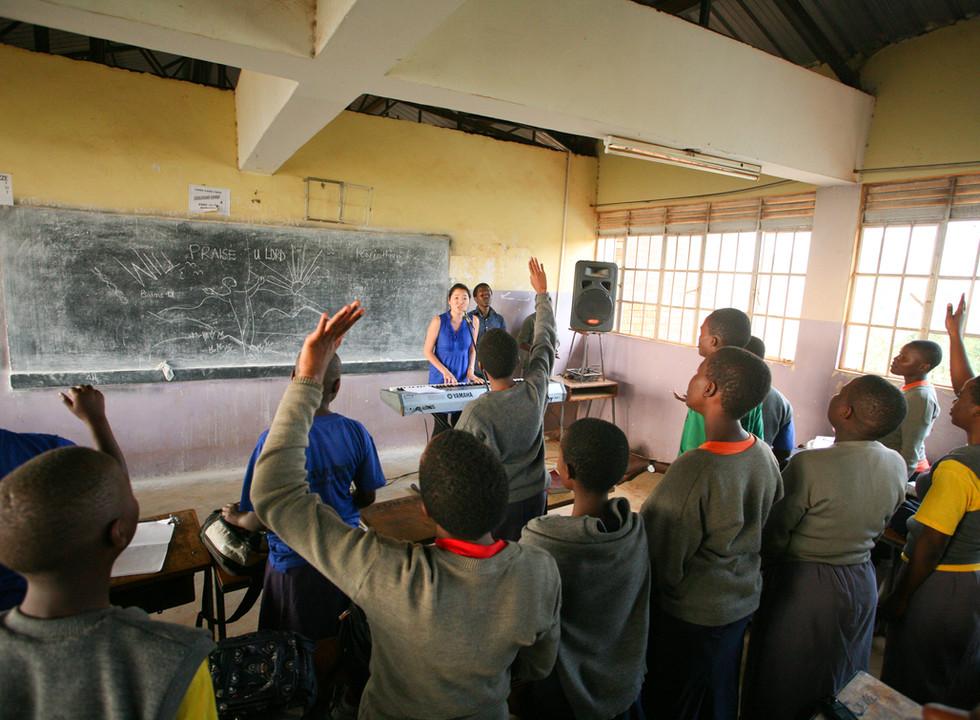 High School, Kampala, Uganda
