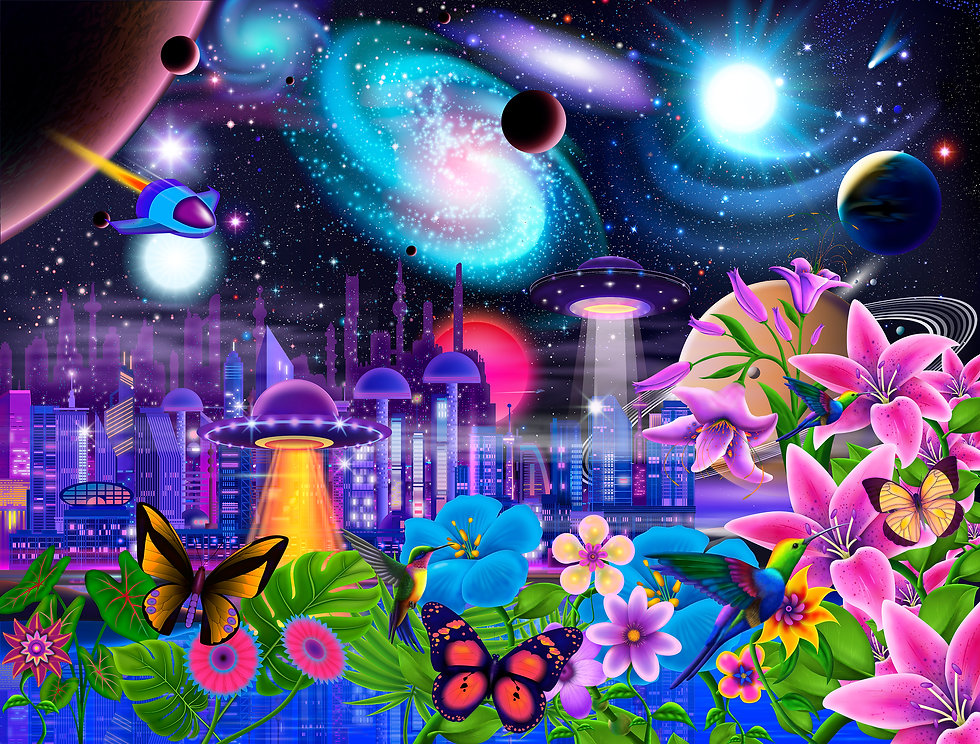 Cosmic City Paradise