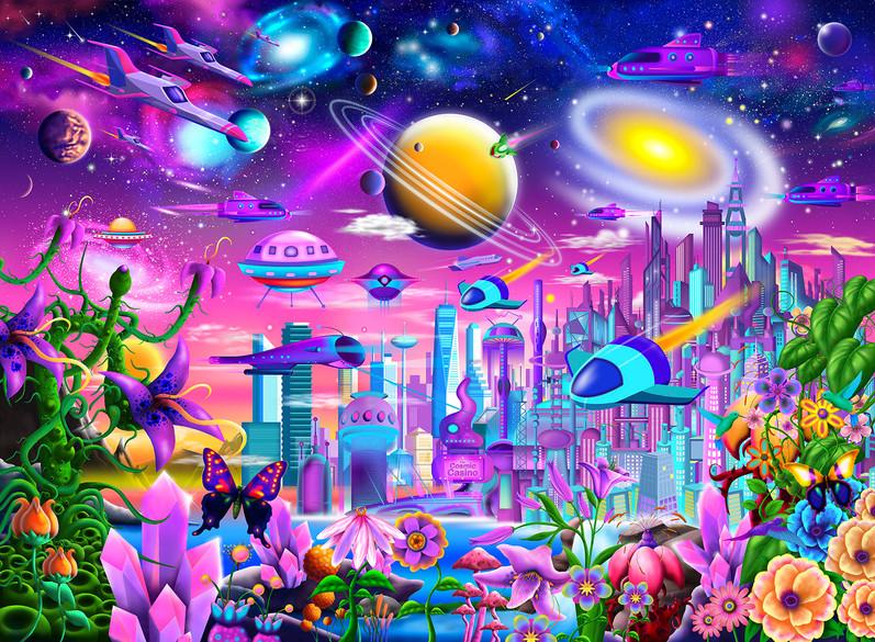 Amazing Cosmic City