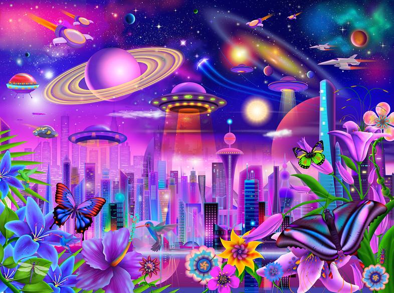 Cosmic City Lights
