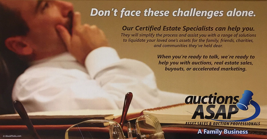 Our certified estate specialists