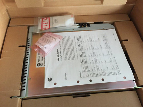 NOS Allen-Bradley 1394C-AM50-IH Ser C Axis Module 10 Kw New Surplus Inventory
