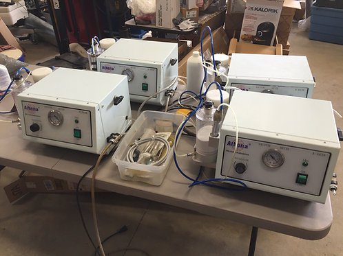 Lot of 4 ATHENA Microdermabrasion machines AC-6638 may need parts &