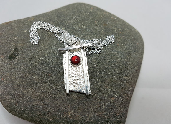Handmade sterling ilver necklace