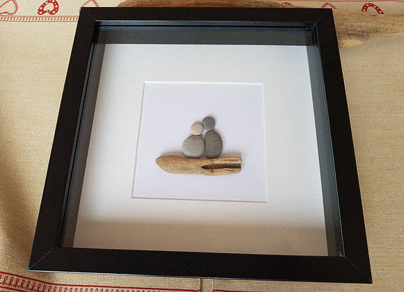 Large pebble art