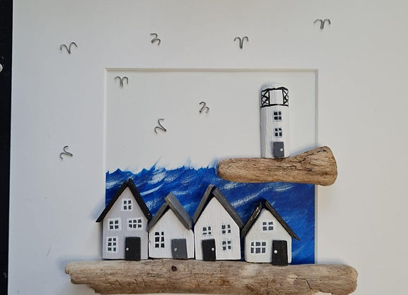 Higgledy house picture frame