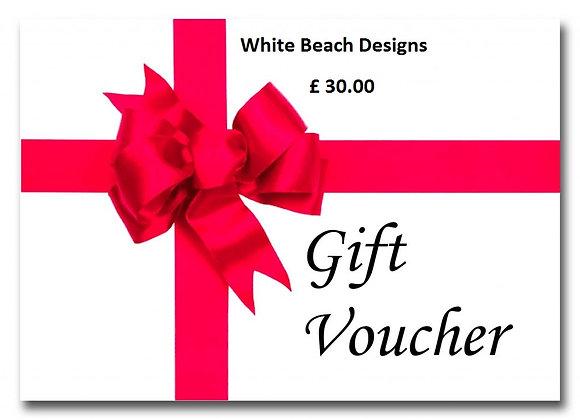 £ 30.00 Gift voucher