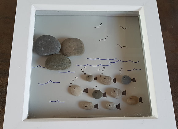 Pebble art picture
