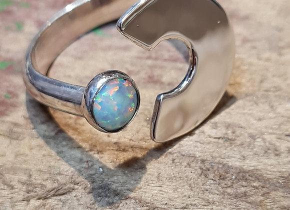 Semi circle ring