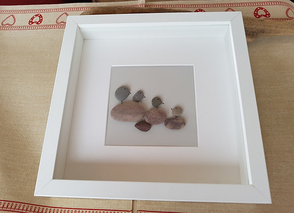 Large pebble art