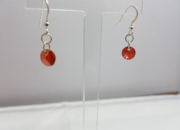 Stering silver earrings