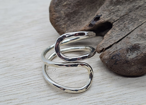 open curved ring