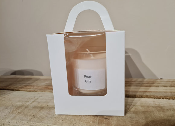 Pear Gin soy candle