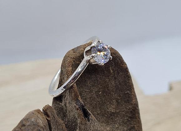 4mm CZ ring