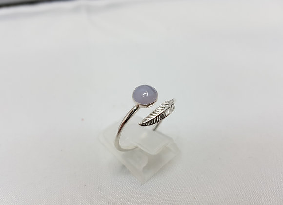 Open wing ring