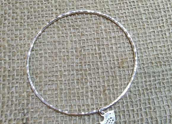 handmade sterling silver bangle