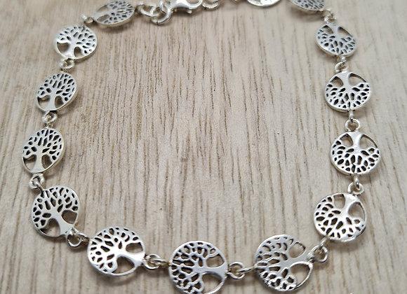 linked tree of life bracelet