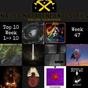 Top 10 Bandcamp - Week 47
