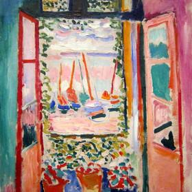Henri Matisse, La Fenêtre ouverte à Coll