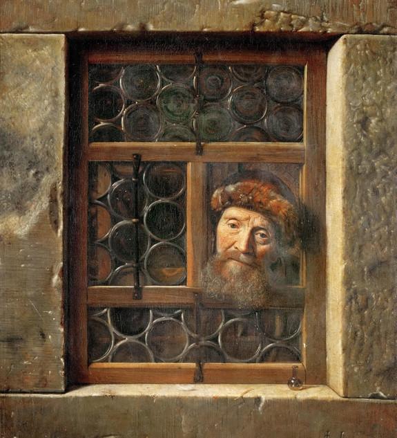 'Hombre en la ventana', de Samuel Van Ho
