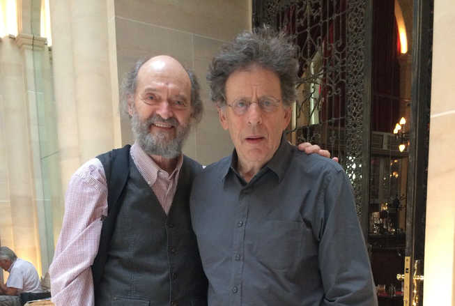 Philip Glass y Arvo Pärt