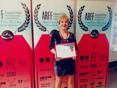 Received certificate from ARFF Amsterdam Found Film International Film Festival