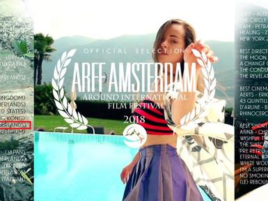 ARFF Amsterdam Around International Film Festival Flyer