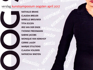 Cover of Kunstsymposium Oogsten April 2017