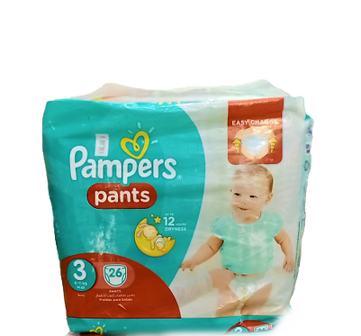 Pampers pants(New)