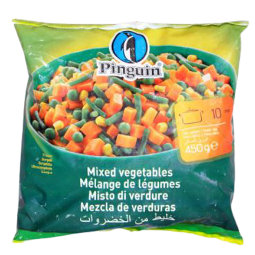 Pinguin Mixed Vegetables 450g