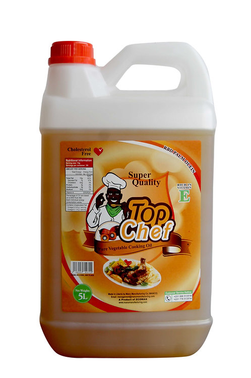 Top Chef Oil(5liters)