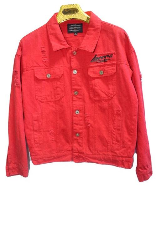 HAOPAI Jeans Jacket