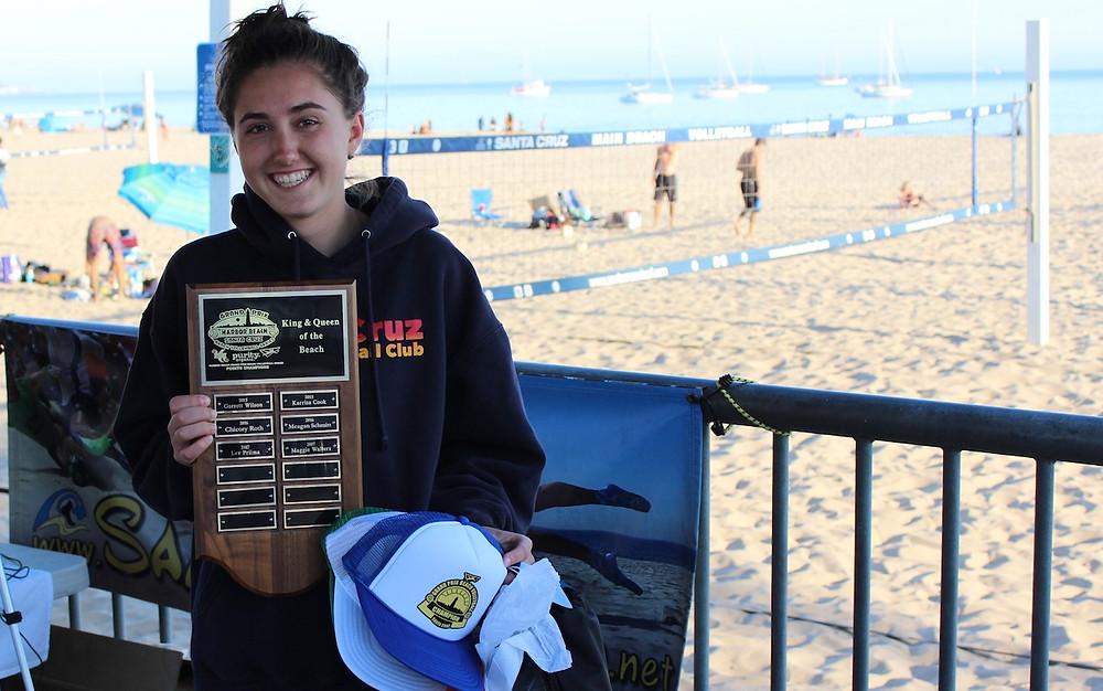Jillian Rodriguez - 2018 Queen of the Santa Cruz HOTSAND